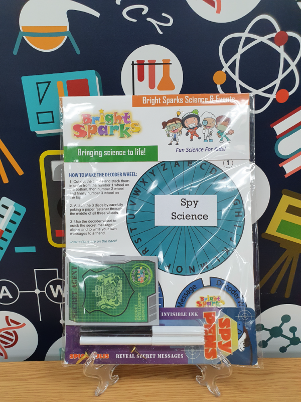 Spy Science kits