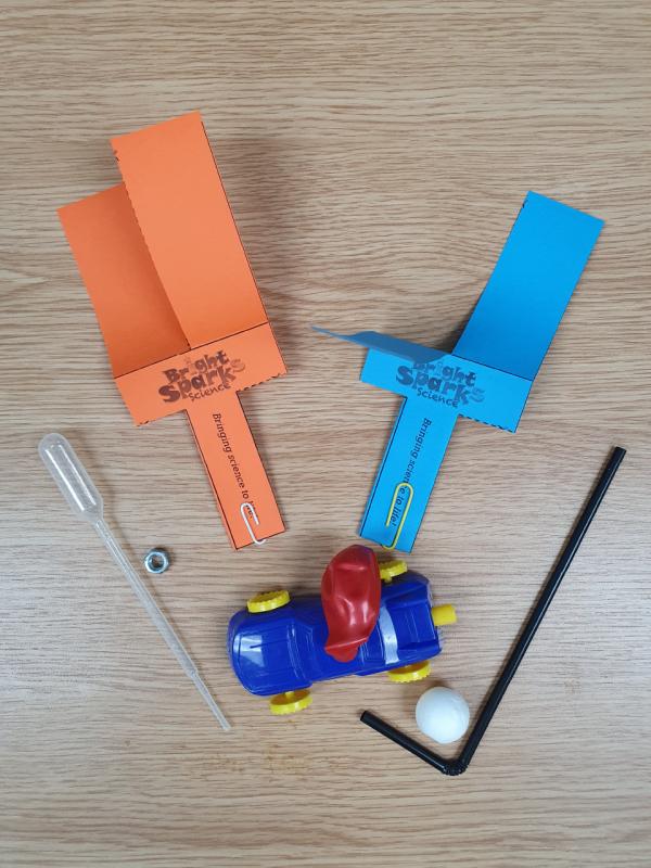 Air pressure kit contents