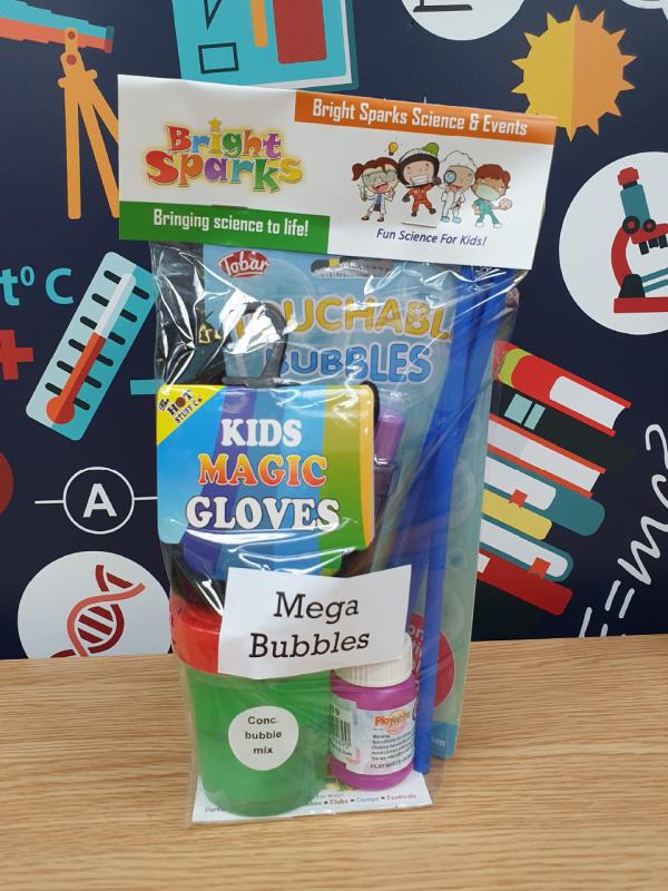Mega Bubbles science kit