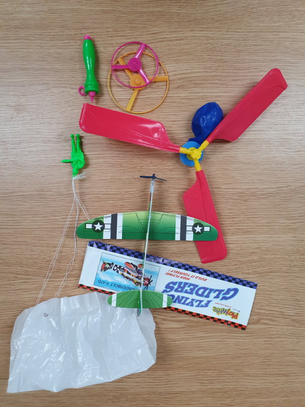 Science of flight kit contents