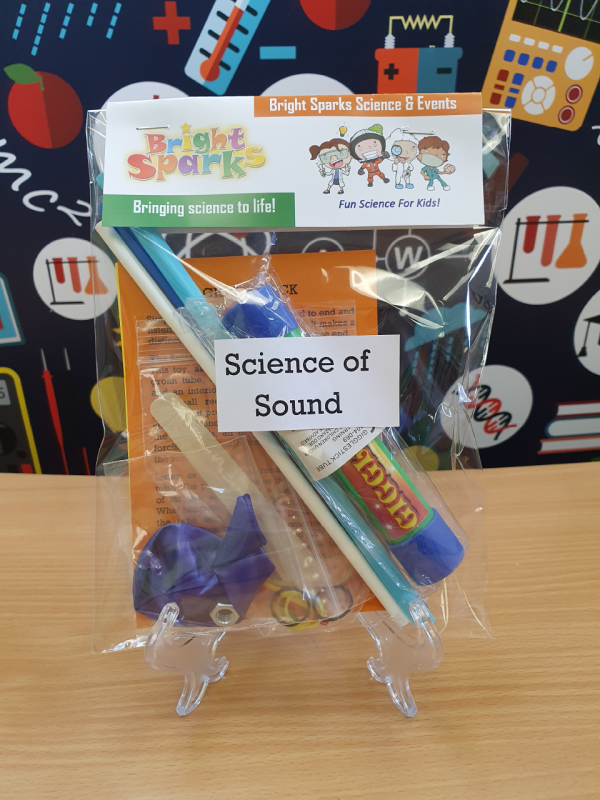 science of sound bag of science kits