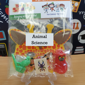 animal science bag of science kits