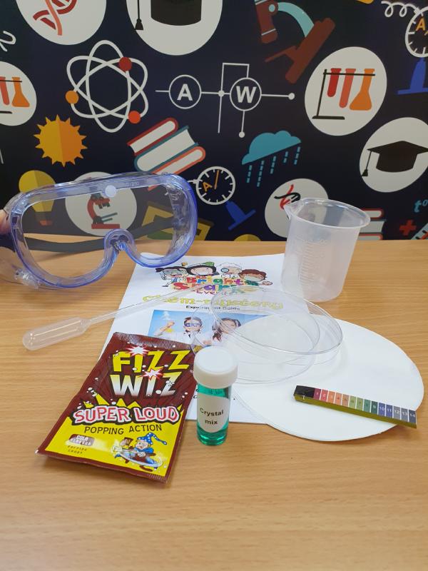 kitchen chemistry science kit contents