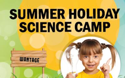 Summer Science Holiday Camp – Wantage